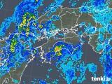 2019年05月20日の四国地方の雨雲の動き