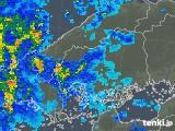 2019年05月20日の広島県の雨雲の動き