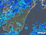 2019年05月20日の宮崎県の雨雲の動き