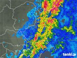 2019年05月21日の茨城県の雨雲の動き
