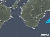 2019年05月23日の和歌山県の雨雲の動き