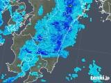 2019年05月27日の宮崎県の雨雲の動き