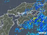 2019年05月28日の四国地方の雨雲の動き