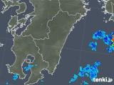 2019年05月28日の宮崎県の雨雲の動き
