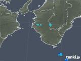 2019年05月29日の和歌山県の雨雲の動き