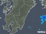 2019年05月29日の宮崎県の雨雲の動き