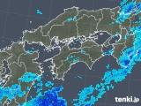 2019年05月31日の四国地方の雨雲の動き