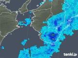 2019年05月31日の和歌山県の雨雲の動き