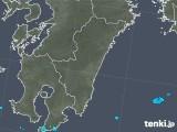 2019年06月01日の宮崎県の雨雲の動き