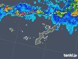 2019年06月02日の沖縄県の雨雲の動き