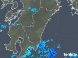 2019年06月03日の宮崎県の雨雲の動き