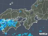 2019年06月04日の近畿地方の雨雲の動き