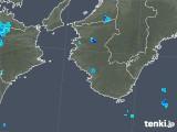 2019年06月04日の和歌山県の雨雲の動き
