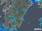 2019年06月04日の宮崎県の雨雲の動き