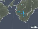 2019年06月05日の和歌山県の雨雲の動き