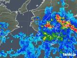 2019年06月07日の和歌山県の雨雲の動き