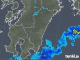 2019年06月07日の宮崎県の雨雲の動き