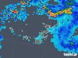 2019年06月08日の沖縄県の雨雲の動き