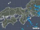 2019年06月09日の近畿地方の雨雲の動き