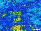 2019年06月10日の群馬県の雨雲の動き