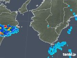 2019年06月10日の和歌山県の雨雲の動き