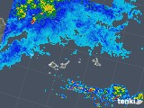 2019年06月10日の沖縄県(宮古・石垣・与那国)の雨雲の動き