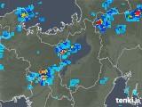 2019年06月11日の滋賀県の雨雲レーダー