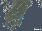 2019年06月11日の宮崎県の雨雲の動き