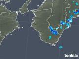 2019年06月12日の和歌山県の雨雲の動き