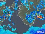 2019年06月14日の和歌山県の雨雲の動き