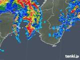 2019年06月15日の和歌山県の雨雲の動き