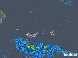 2019年06月16日の沖縄県(宮古・石垣・与那国)の雨雲の動き