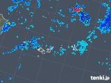 2019年06月18日の沖縄県(宮古・石垣・与那国)の雨雲の動き