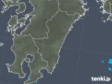 2019年06月19日の宮崎県の雨雲の動き