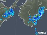 2019年06月23日の和歌山県の雨雲の動き