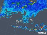 2019年06月23日の沖縄県(宮古・石垣・与那国)の雨雲の動き