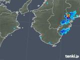 2019年06月24日の和歌山県の雨雲の動き