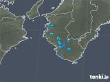 2019年06月25日の和歌山県の雨雲の動き