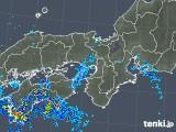 2019年06月26日の近畿地方の雨雲の動き