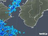 2019年06月26日の和歌山県の雨雲の動き