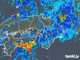 2019年06月27日の近畿地方の雨雲の動き