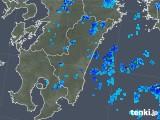 2019年06月27日の宮崎県の雨雲の動き