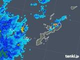 2019年06月27日の沖縄県の雨雲の動き