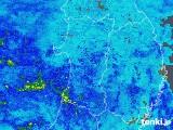 2019年06月27日の秋田県の雨雲の動き