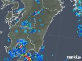 2019年06月28日の宮崎県の雨雲の動き