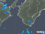 2019年06月29日の和歌山県の雨雲の動き