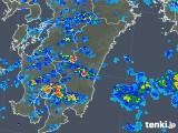 2019年06月29日の宮崎県の雨雲の動き