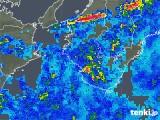 2019年06月30日の和歌山県の雨雲の動き