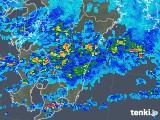 2019年07月01日の宮崎県の雨雲の動き