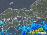 2019年07月02日の近畿地方の雨雲の動き